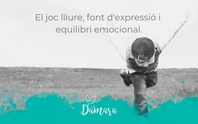 El joc lliure, font d'expressió i equilibri emocional